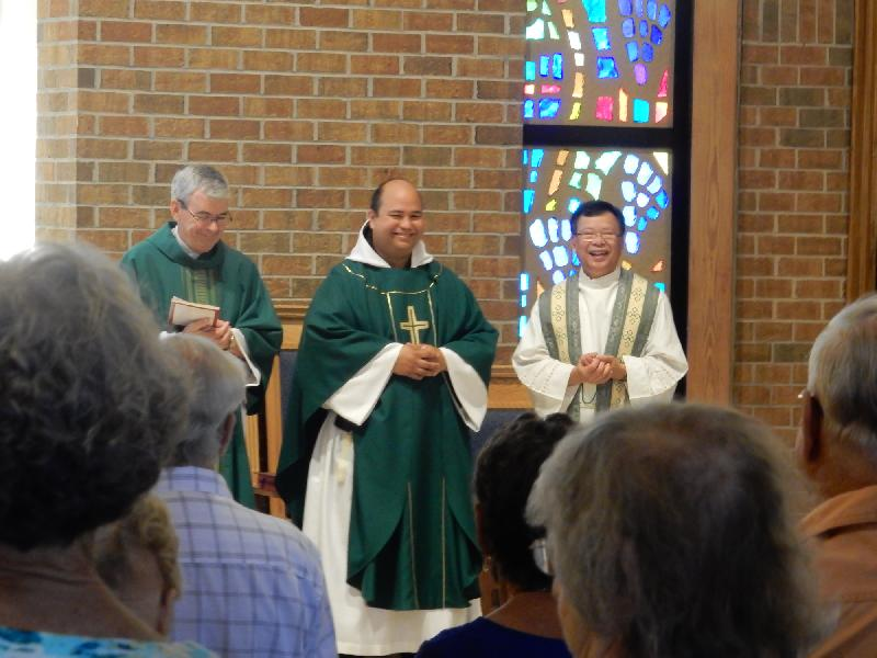 Ordination of Father Lopez